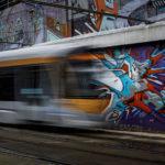 De Wand- tram- STIB- Photowalk Métro Bruxelles