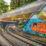 Photowalk Métro Bruxelles De Wand- tram- STIB- Graffiti