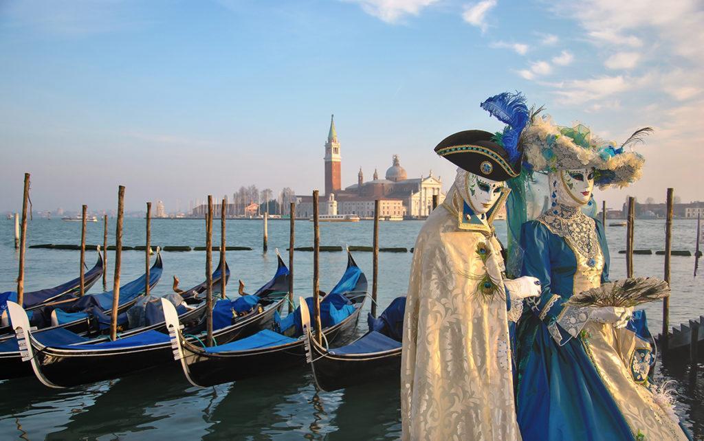 Venise Costumé gondole