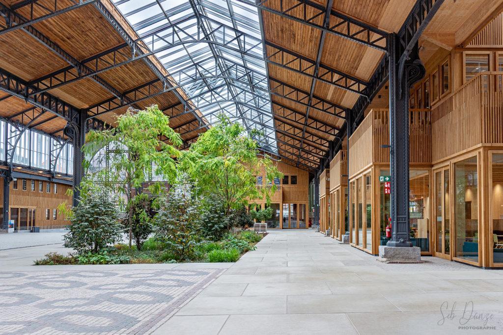 Tour et Taxis Architecture verdure